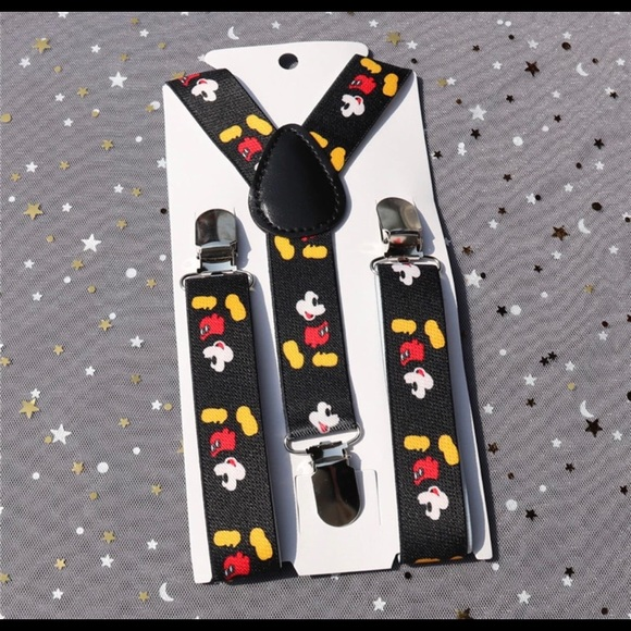 85c534b20 Accessories | Mickey Mouse Boys Suspenders Toddlers | Poshmark
